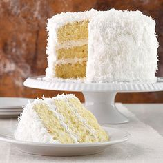 클래식 코코넛 케이크