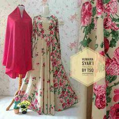 Baju Muslim Cantik B119 Humaira Syar'i Trendy - http://bajumuslimbaru.com/baju-muslim-cantik-b119-humaira-syari