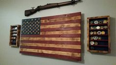 Custom flag coin display by Trish Coffield American Flag Coin Rack Military Coin…