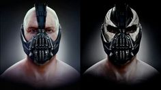 Bane concept art for the Nolin series. Should of kept it with the white.