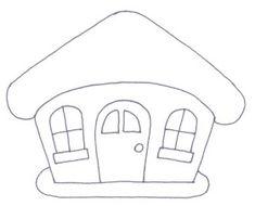 La trapera de Amelia : Patrones de casitas