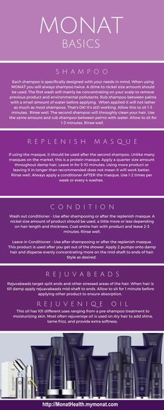 Monat products are for all hair types and can help with so many hair issues (thinning, balding, limp/flat hair, dry, frizzy, oily, split ends, growing length or just healthier hair). Think of Monat as vitamins for your hair. These products heal from root to end using essential oils. The best part is they are naturally based and don't contain all the chemicals found in typical products. With a 30-day money-back guarantee, you've got nothing to lose. Order now from