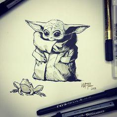 dominicmarceaux - 0 results for star wars art Art Sketches, Art Drawings, Yoda Drawing, Star Wars Baby, Star Wars Fan Art, Cute Art, Illustrations, Mandalorian, Artsy