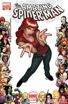 Let's dance with Mary Jane! Art by Stuart Immonen (whose wife Kathryn is a writer) and Laura Martin (a colorist who learned her trade at WildStorm Studios; in recent years colorists sign their names alongside pencillers and inkers; she won Eagles and Eisners among other honors).