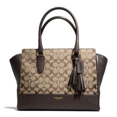 The Legacy Medium Candace Carryall In Signature Fabric from Coach