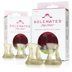 Solemates High Heeler® | The Solemates™ - High Heel® Protector Cap, Prevents Heels from Sinking into Grass