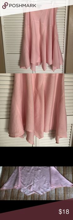 Just In 🛍 Pink Asymmetrical Skirt Pink Asymmetrical Skirt 🛍 Size M 🛍 Pre-Loved • Bundle and Save • Reasonable Offers Welcomed Skirts