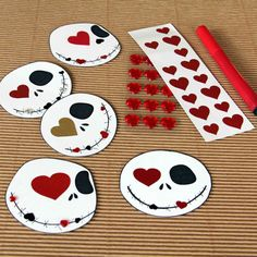 Sweet Skellington Valentines | Crafts | Spoonful