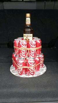 Captain Morgan & Coke Cake!!!