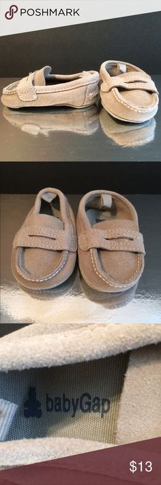Baby Gap Tan Penny Loafer Shoes Baby Gap Tan Suede Penny Loafers Baby Gap Shoes Moccasins
