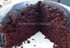 BANANA CHOCOLATE CAKE - Tarta de chocolate y plátano