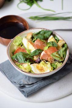 Grapefruit and Romaine Salad
