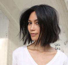 Best Short Haircuts, Cool Haircuts, Short Hairstyles For Women, Messy Hairstyles, Popular Hairstyles, Black Hairstyles, Oval Shape Face Hairstyles, Oval Face Haircuts Short, Messy Bob Haircuts