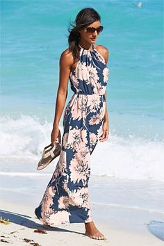 Dresses - Next Floral Print Maxi Dress - EziBuy Australia