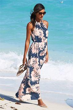 Dresses - Next Floral Print Maxi Dress - EziBuy Australia
