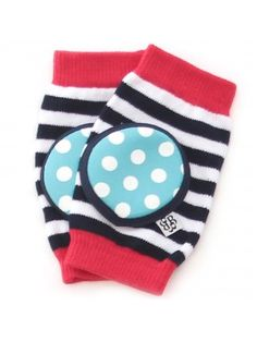Happy Knees Firecracker Pop - crawler kneepads $14 www.bellatunno.com