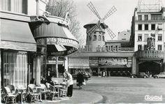Le Moulin Rouge dans les annees 1950