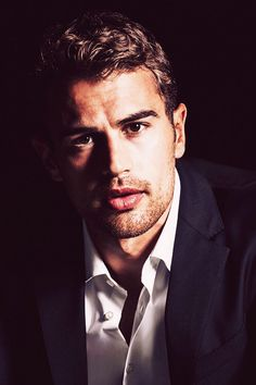 "Hugo Boss Interview: Theo James is ""The Mystery Man""You can find Theo james and more on our website.Hugo Boss Interview: Theo James is ""The Mystery Man"" Interview, Hugo Boss The Scent, Tris Und Four, Theodore James, Boss T Shirt, Celebrity Crush, Cute Guys, Liam Payne, Gorgeous Men"