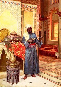 Painting History: Harem Guard