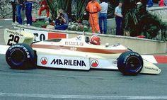 F1 Paper Model - 1983 GP Monaco Arrows A6 Free Template Download