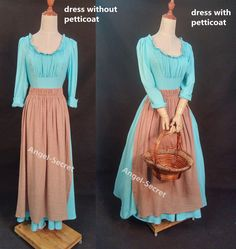 Princess Dress Patterns, Disney Princess Dresses, Cinderella Dresses, Cinderella 2015, Disney Dresses For Women, Princess Inspired Outfits, Blue Dress Casual, Blue Dresses, Vintage Dresses