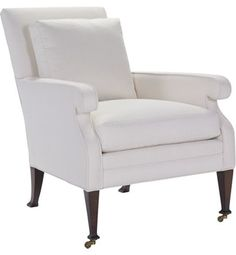 Hickory Chair Archive Everett Button Lounge Chair available at Hickory Park Furniture Galleries Foyer Furniture, Parks Furniture, Furniture Upholstery, Furniture Companies, Living Room Chairs, Home Living Room, Snug Room, Hickory Chair, Bedroom Retreat