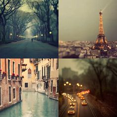 All beautiful places~~~~Been to them all!