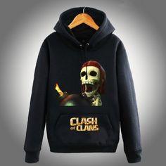 COC Clash of Clans hoodie XXXL Wall Breaker fleece pullover