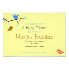 Baby Shower Invite | Little Birdie |y