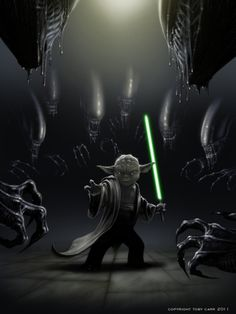 YODA - On It Is, Hold Back I Will Not, Kick Ass I Will