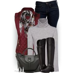 A fashion look from November 2015 featuring iHeart sweaters, Levi's jeans and Naturalizer boots. Browse and shop related looks.