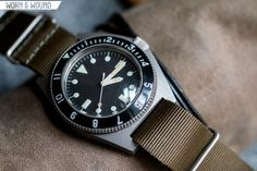 Benrus Type I and Type II Military Dive Watches - Worn & Wound Benrus Watch, Type I, Seiko Watches, Cool Watches, Diving, Take That, Military, Accessories, Vintage