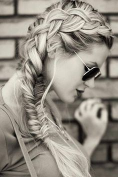 dutch turned fishtail braid hairstyles