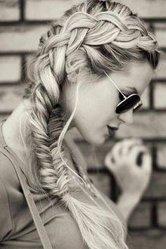 dutch turned fishtail braid hairstyles