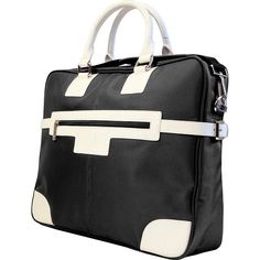 Urban Factory Vicky's Bag ($60) ❤ liked on Polyvore featuring bags, handbags, shoulder bags, black, business, non-wheeled computer cases, shoulder strap bags, laptop handbags, laptop purse and urban handbags