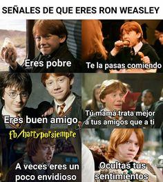 Soy ron :'v Harry Potter Hermione, Albus Severus Potter, Snape Harry, Mundo Harry Potter, Harry Potter Images, Harry Potter Tumblr, Harry Potter Facts, Harry Potter Fan Art, Harry Potter World