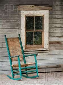.Love the color of chair, this reminds me of my Grandma & Grandpa's porch on their old farm house......Sigh