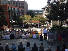 For an hour or two almost every day of the summer, you can find a free outdoor concert in and around Seattle.