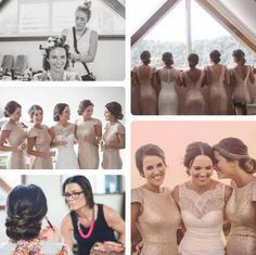 Gorgeous bridal party style