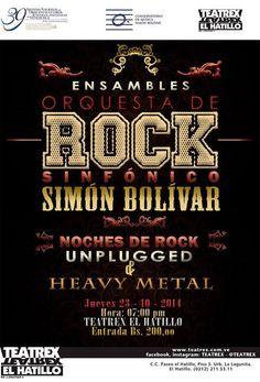 Cresta Metálica Producciones » Orquesta de Rock Sinfónico se presenta en formato acústico y de heavy metal