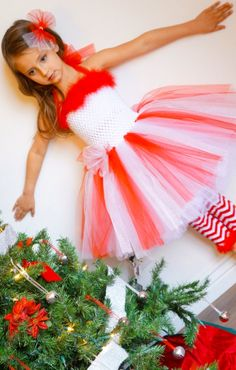 Items similar to Peppermint Princess/ Candy Cane Ballerina tutu dress. Great for Christmas photos, Parties, dress up or any special occasion. Christmas Dance Costumes, Christmas Tutu Dress, Tacky Christmas, Christmas Photos, Christmas Program, Christmas Scenes, Baby Tutu Dresses, Tutu Outfits, Little Girl Dresses