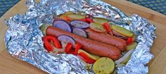 Foil Packet Hot Dogs