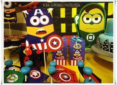 Minions superhero Birthday Party Ideas | Photo 2 of 24 | Catch My Party