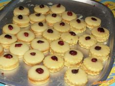 Desert Recipes, Christmas Candy, Mini Cupcakes, Christmas Cookies, Cheesecake, Lemon, Food And Drink, Sweets, Mascarpone