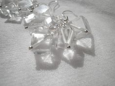 Rock Mountain Crystal Earrings from juta ehted - my jewelry shop by DaWanda.com