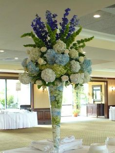 Sometimes creating just the perfect arrangements for a wedding means thinking outside the box and using untraditional resources