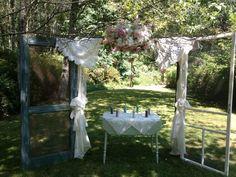 kuenle | Vintage Wedding Arches | vintage door wedding arch