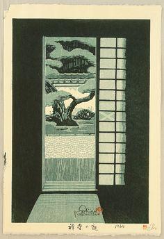 Kasamatsu Shiro: Garden of a Zen Temple - 1964