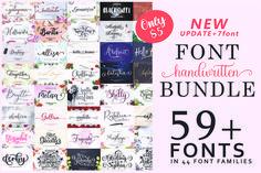 Font Collection Bundle #font #casual #bundle
