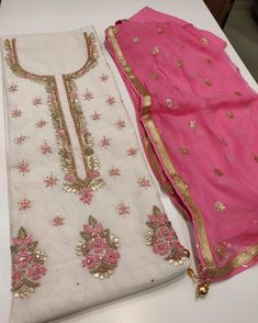 Dress Neck Designs, Designs For Dresses, Blouse Designs, Ladies Day Dresses, Stylish Dresses For Girls, Punjabi Suits Designer Boutique, Indian Designer Outfits, Fancy Dress Material, Cotton Dress Indian